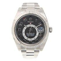 Rolex Sky-dweller 18k Platinum Black Automatic 326939BKAR_O