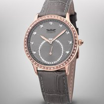 Perigáum Queen P-1311-IR-GY Damen rosegold taupe 38 mm 5ATM