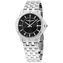 Raymond Weil Tango Black Dial Stainless Steel 39 Mm Men's...