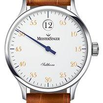 Meistersinger Salthora 40 mm white dial