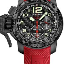 Graham Chronofighter Oversize Chronograph Superli NEU B+P