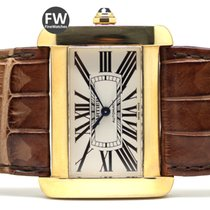 Cartier Tank Divan Yellow Gold
