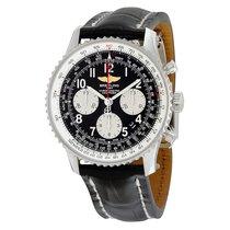 Breitling Navitimer 01 Black Dial Chronograph Men's Watch