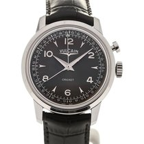 Vulcain Heritage Presidents' Watch 39 Charcoal L.E.