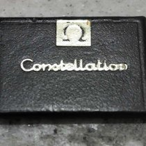 Omega vintage display tag black constellation model