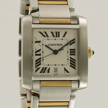 Cartier Tank Francaise GM Gold/Steel