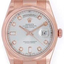 Rolex Men's Rose Gold Rolex President Day-Date Watch...