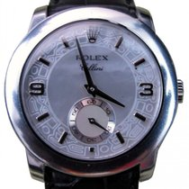 Rolex Cellini Cellinium 5240-6 White Mother of Pearl Arabic /...