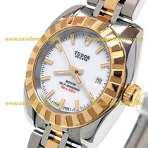 Tudor CLASSIC DATE Stainless Steel Gold Automatic Date 22013