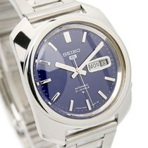 Seiko 5 Mens Rare Automatic 1970s 21 Jewels Stainless Steel...
