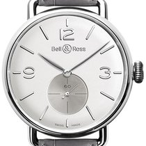Bell & Ross Argentium Vintage WW1 BRWW1-ME-AG-OP-SCR