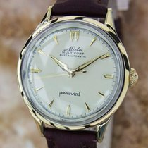 Mido Multifort Swiss Made Mens 1960 Superautomatic Gold Capped...