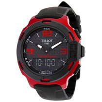 Tissot T-Race Touch Red Aluminium Mens Sports Watch T081420972...
