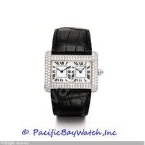 Cartier Divan Dual Time Diamond Pre-owned