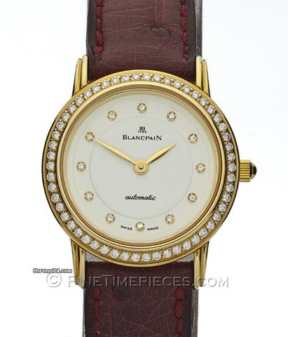 Blancpain Automatic Damenuhr - 0096-0018-028