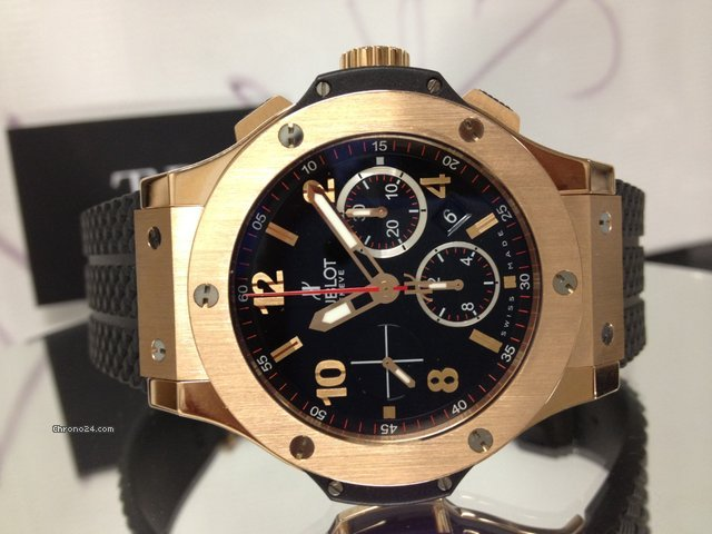 Hublot Big Bang Rose / Red Gold 44mm Chronograph