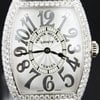 Franck Muller Curvex white gold case with high quality diamond...