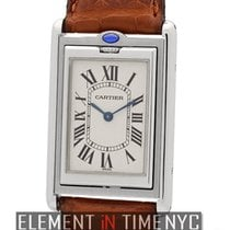 Cartier Tank Collection Tank Basculante Stainless Steel 25mm...