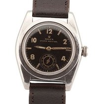 """Rolex Oyster """"Bubble Back"""" in Stahl ca.1945 - uhrboerse"""