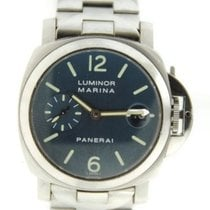 Panerai Luminor Marina Blue Dial Steel