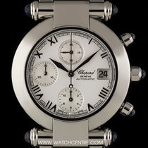 Chopard S/S White Dial Imperiale Chronograph Gents 37/8210-33