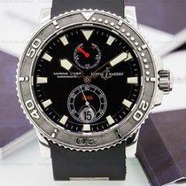 Ulysse Nardin Maxi Marine Diver Black SS / Rubber