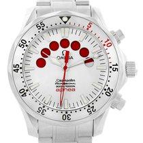 Omega Seamaster Apnea Jacques Mayol Silver Dial Watch 2595.30.00
