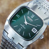 Seiko Emblem Automatic Watch Made In Japan Classic For Men Pb10