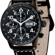 Zeno-Watch Basel X-Large Pilot Chrono Day-Date Blacky
