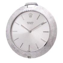 Rolex 18K White Gold 3608 Pocket Watch