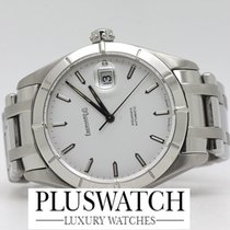 Eberhard & Co. Aquadate solo-tempo 40mm White Dial 41015 2072