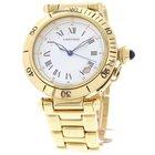 Cartier Men's Cartier De Pasha 18K Yellow Gold 1027 Watch