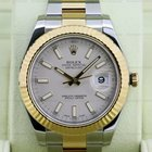 Rolex Datejust II Ivory Stick Dial 18K / SS