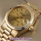 "Rolex Datejust Midi - Yellow Gold ""Box & Papers"""