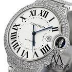Cartier Diamond Cartier Ballon Bleu 42mm W69012z4 Automatic Watch