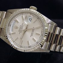 Rolex 18k Gold Day-date President Silver 18239