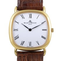 Baume & Mercier Mens Yellow Gold Automatic Watch MOAO1012