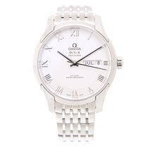 Omega De Ville Stainless Steel Silver Automatic 433.10.41.22.0...