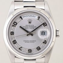 Rolex Day-date platine diamonds dial