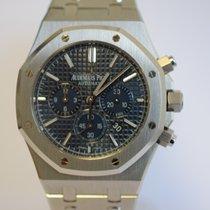 Audemars Piguet Royal Oak Boutique Edition Blue Dial Chronogra...