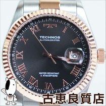 Technos 【MT523】【新品】【買取品】TECHNOS テクノス  メンズウォッチ 5気圧防水 デイト メンズ QZ...