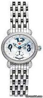Michele CSX Blue Diamond Mini Ladies Watch MWW03F000035