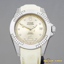 Tudor Rolex Prince Date Automatic Steel New Diamonds (box+papers)