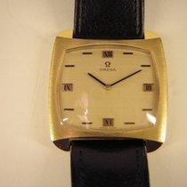 Omega Vintage De Ville Gold/Stahl mit Lederband