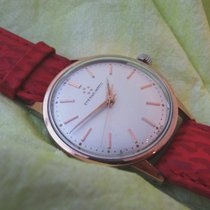 Eterna rare vintage Gold / steel in very good working condition