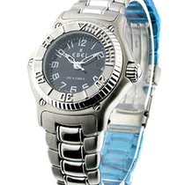 Ebel 9087321/5665P Discovery Ladys - Steel with Black Dial