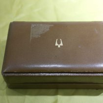 Bulova vintage watch box leather for accutron