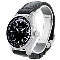 IWC Pilot Worldtimer Black Dial Automatic Mens Watch Iwc3262-0...