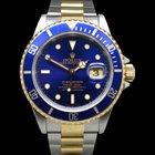Rolex Submariner 16613 Steel/Gold Blue