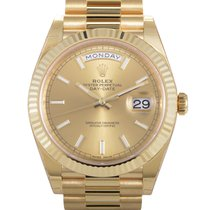 Rolex Oyster Perpetual Day-Date 40 Men's Automatic Watch...